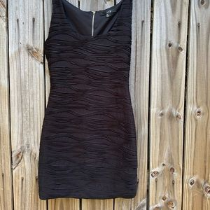 XXI Back Zippier Form Fitting Little Black Dress